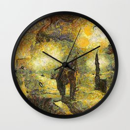 Stazions Santa Lucia Wall Clock