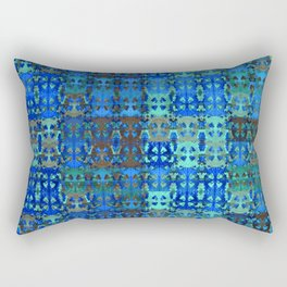 Vintage African Textile Surface Design Rectangular Pillow