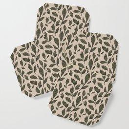Leaf Pattern Coaster