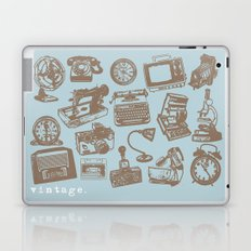 blue vintage  Laptop & iPad Skin