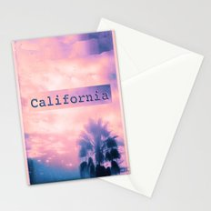California Pink Stationery Cards