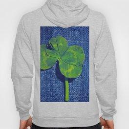 Lucky four leaf clover Hoody