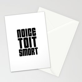 Noice Toit Smort ( B99 MEMES ) Stationery Cards