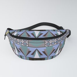 Art Deco Abstract Pastel Pattern Fanny Pack