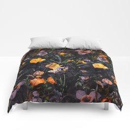 Night Forest II Comforters
