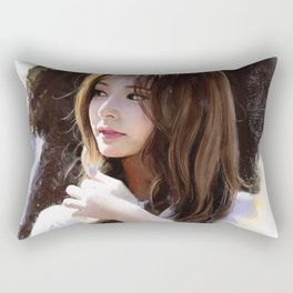 Portrait of Tzuyu Rectangular Pillow