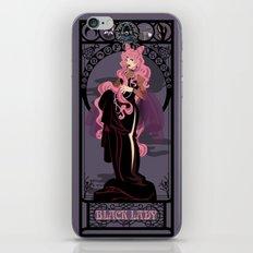 Black Lady Nouveau - Sailor Moon iPhone & iPod Skin