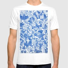 - the captain who fell with the blue angels - MEDIUM White Mens Fitted Tee