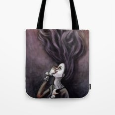 On the Wrong Side Tote Bag