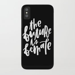 The Future is Female 2 iPhone Case