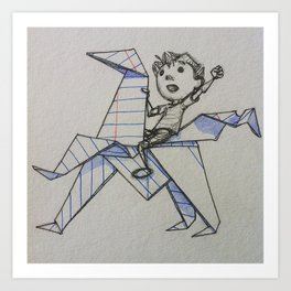 Adventures of DoodleBoy Art Print