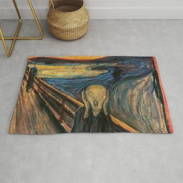 "Edvard Munch, "" The Scream "" Rug"