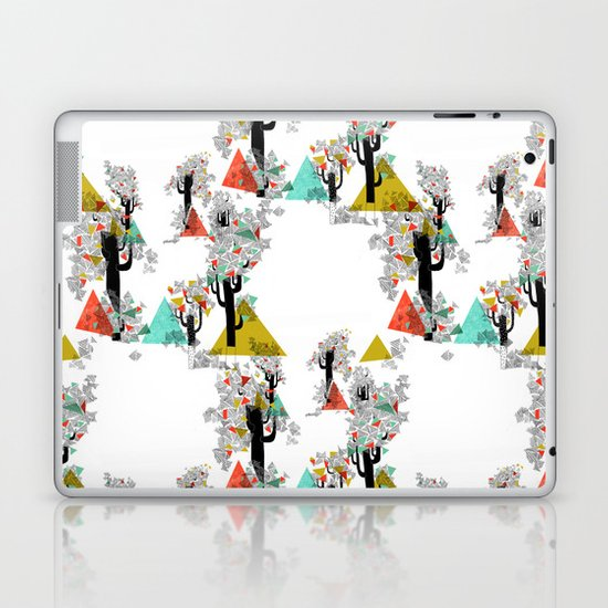 Tree Triangles Laptop & iPad Skin
