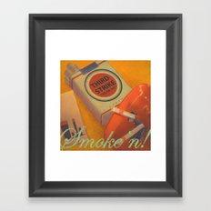 Smoke 'n Framed Art Print