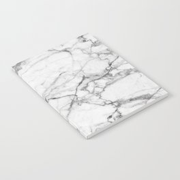 White Marble Stone Notebook