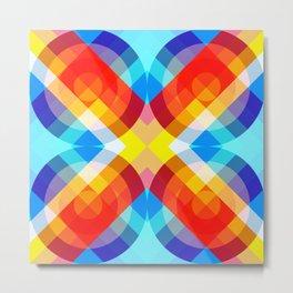 Busama - Colorful Abstract Art Metal Print