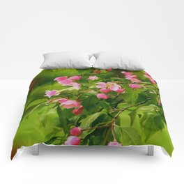 Apple Blossoms in the Spring Comforters