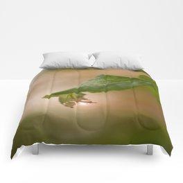Shiny Drop n Forest #decor #buyart #society6 Comforters
