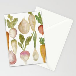 Veggie Garden Stationery Cards