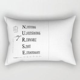 NURSE DEFINED Rectangular Pillow