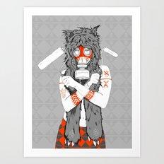 Lady of the Wild Art Print