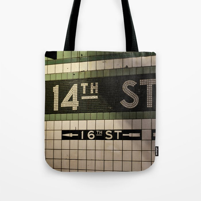 14th Street Station Tote Bag