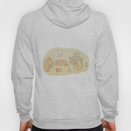 Candle making bears Hoody