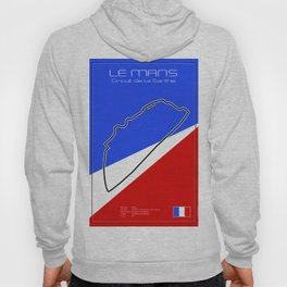 Le Mans Racetrack Hoody