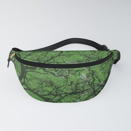 Leaf Green Hunting Camo Fanny Pack