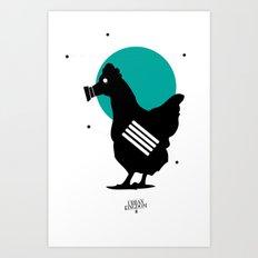 Stop Staring at my Cock Art Print