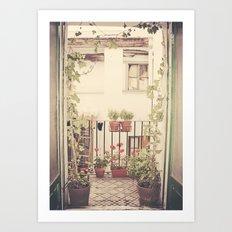 Apartment in Zaragoza, Spain Art Print