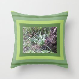 Promise of Spring Snowdrops 2 Throw Pillow