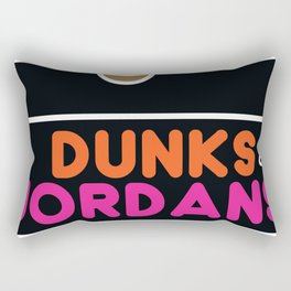Dunks & Jordans Rectangular Pillow