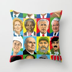 select your politic Throw Pillow
