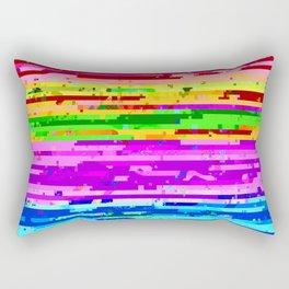 d͟áţa t͠rąsh̡ Rectangular Pillow