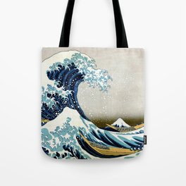 The great wave, famous Japanese artwork Tote Bag