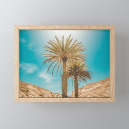 A Tropical Summer Day Framed Mini Art Print