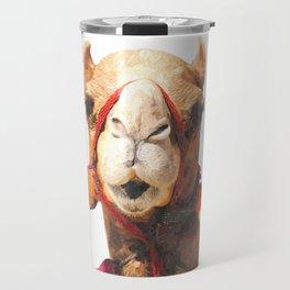 Camel Portrait Travel Mug