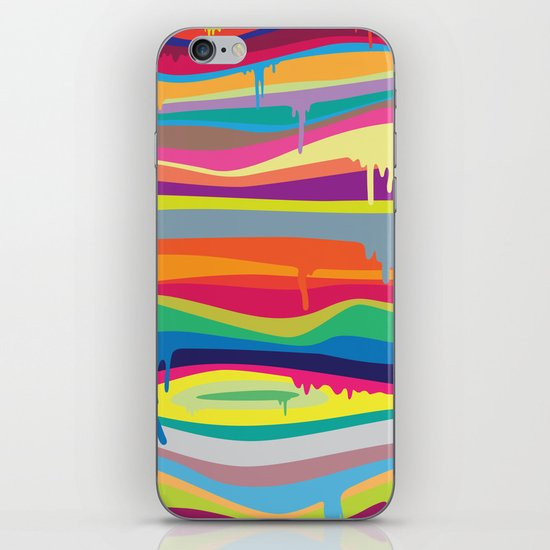 The Melting iPhone & iPod Skin