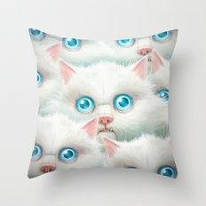 Kittehz II Throw Pillow