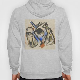 """Franz Marc """"Two Wolves"""" Hoody"""