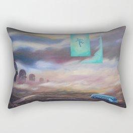 Blue Van Rectangular Pillow