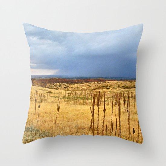 Horsetooth Hills Throw Pillow