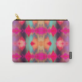 Watercolor Ikat Carry-All Pouch