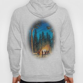 campfire - by phil art guy Hoody