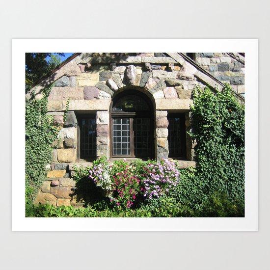 Botanical Gardens Ringwood NJ  Art Print