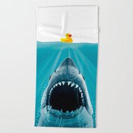 Save Ducky Beach Towel