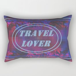 traVel LoVer.. Rectangular Pillow