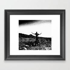 sacred mountain Framed Art Print