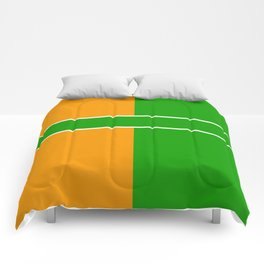 Team Color 6...green,orange Comforters